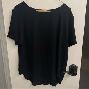 Impeccable Pig black short sleeve top